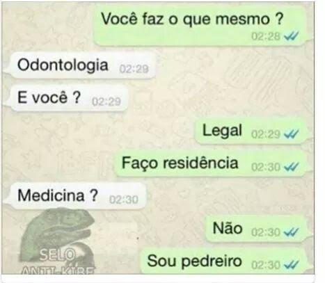 Conversas de WhatsApp
