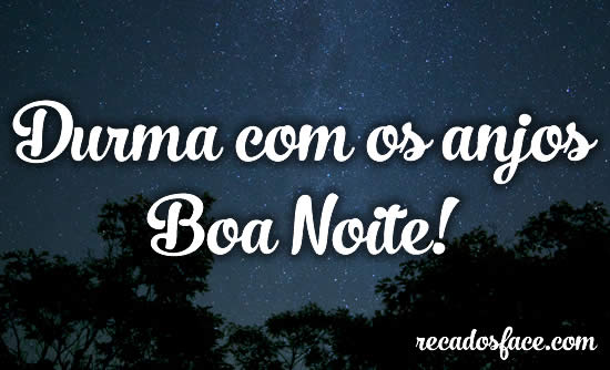 Boa Noite - Imagens para facebook