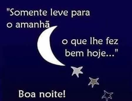 desejando uma boa noite - Imagens para facebook