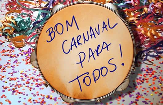 Bom carnaval para todos - Imagens para facebook