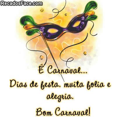 Carnaval, muita folia e alegria - Imagens para facebook
