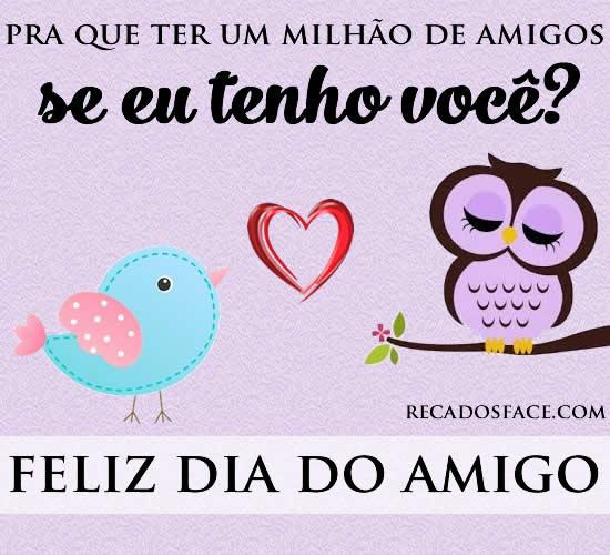 Dia Do Amigo Frases E Mensagens De Dia Do Amigo Para Facebook