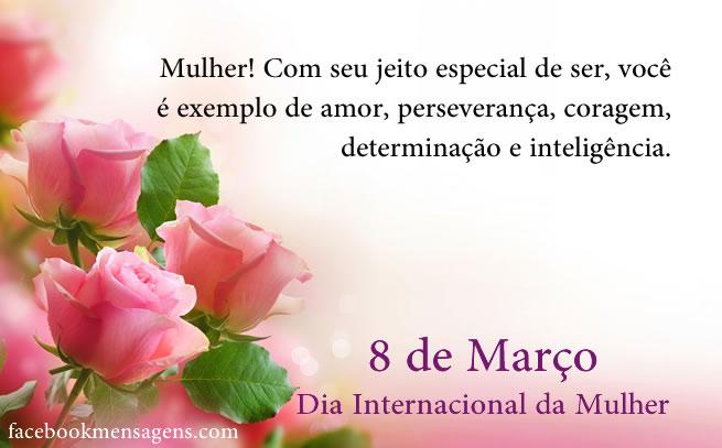 Dia da Mulher. Dia das mulheres.