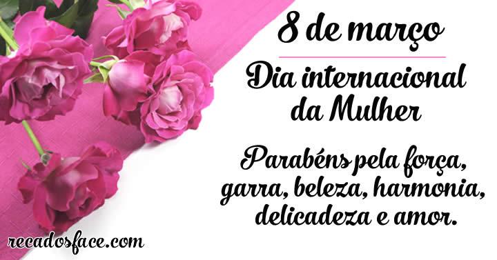 Dia internacional da Mulher. Dia das mulheres