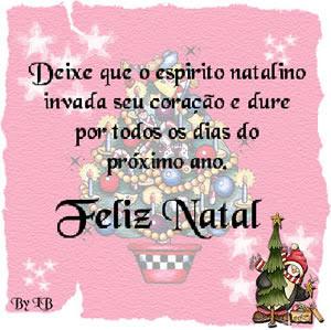 Feliz Natal - Imagens para facebook