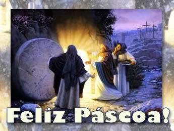Feliz Pascoa religiosa - Imagens para facebook