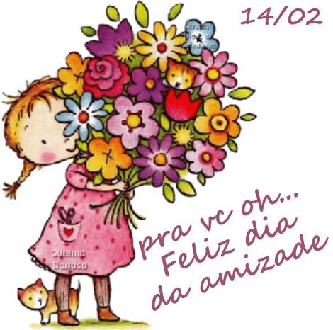 Dia da Amizade, flores para você! - Imagens para facebook