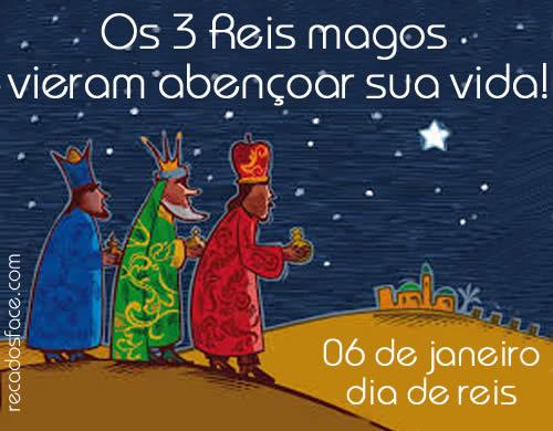 Mensagem dia de Reis