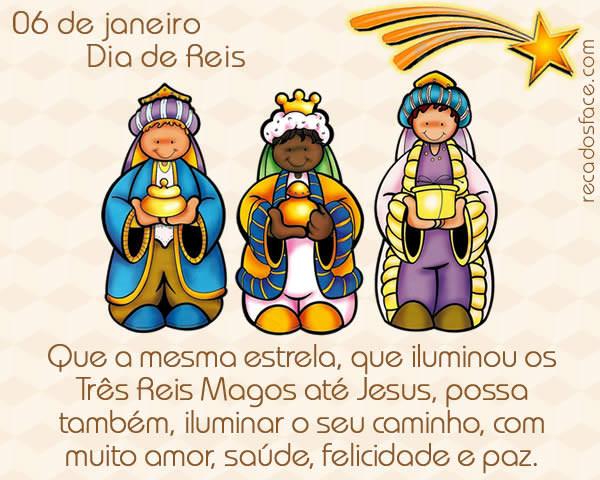 Dia de Reis - 06 de janeiro - mensagem