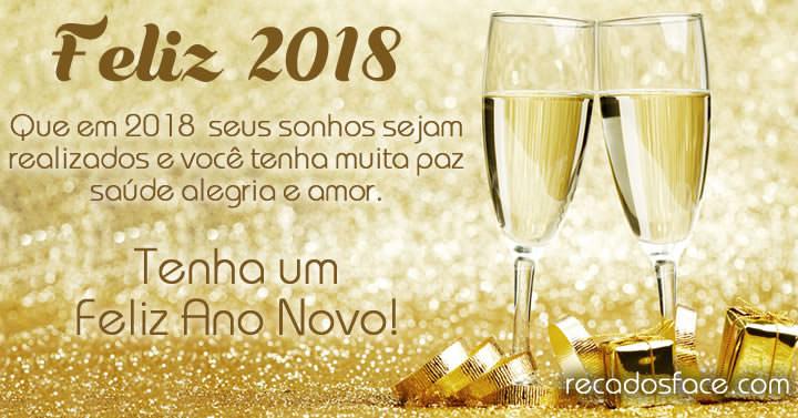 Feliz 2018 - Feliz Ano Novo