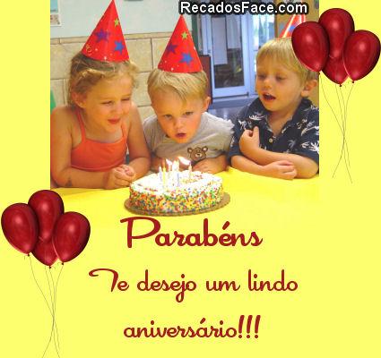 Feliz Aniversário! - Imagens para facebook