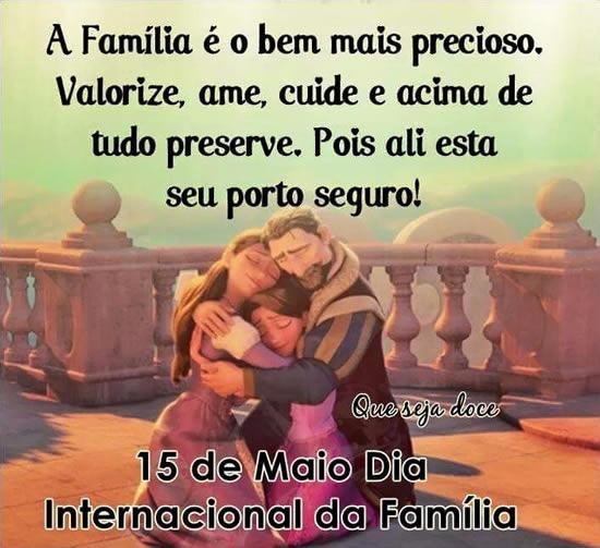 Dia Internacional Da Família Frases E Mensagens De Dia