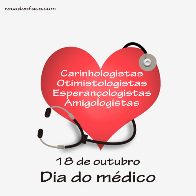 Mensagens e imagens de Dia do Médico