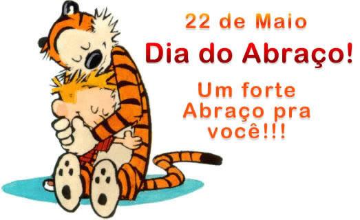 22/05 Dia do Abraço - Imagens para facebook