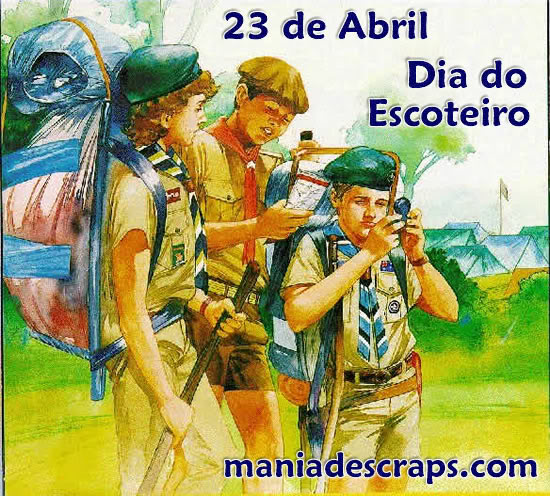 23/04 Dia do Escoteiro
