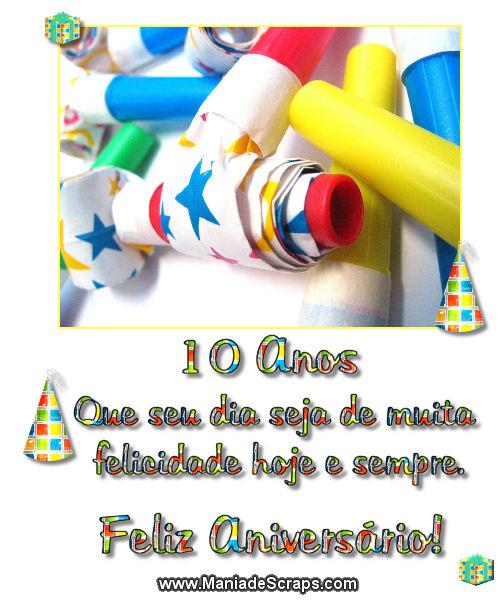 Aniversário de 10 anos