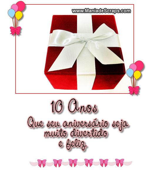Aniversário De 10 Anos Frases E Mensagens De Aniversário De 10