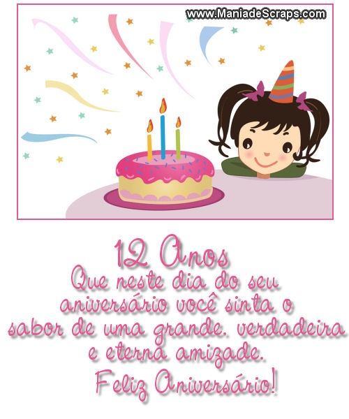 Aniversário de 12 anos