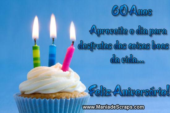 Aniversário De 60 Anos Frases E Mensagens De Aniversário De 60