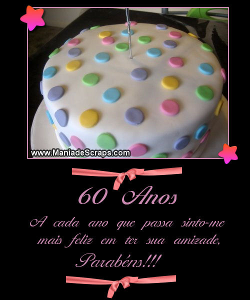 Feliz aniversário de 60 anos