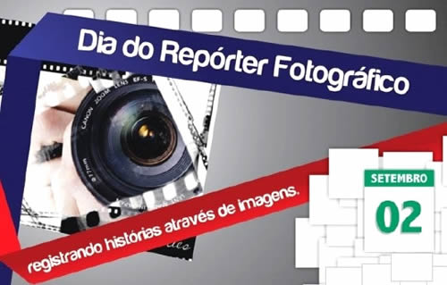 Dia do repórter fotográfico - Imagens para facebook