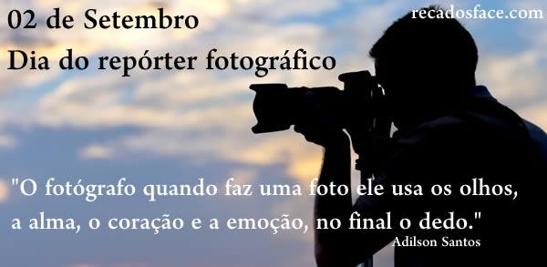 Dia do repórter fotográfico! - Imagens para facebook