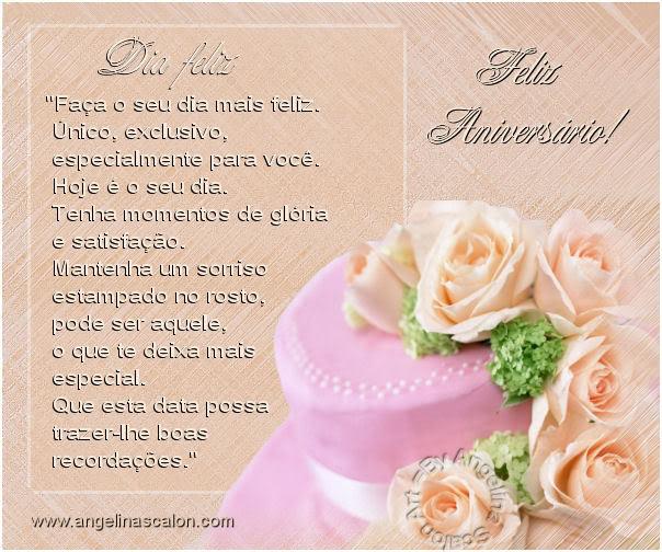 Feliz aniversário, aniversario