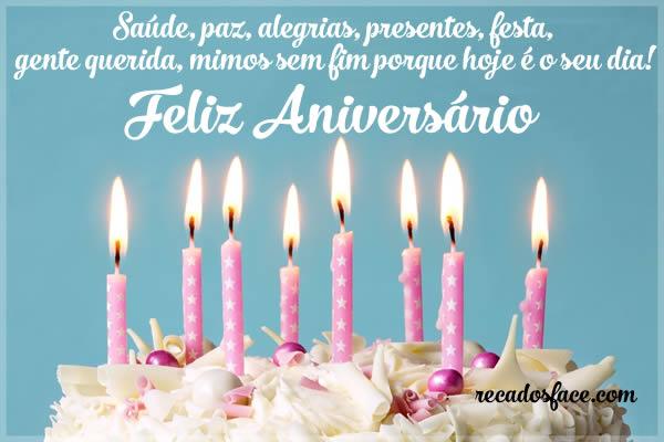 Feliz aniversário, alegrias, presentes