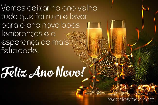 Mensagem de Feliz Ano Novo 001 - Imagens para facebook