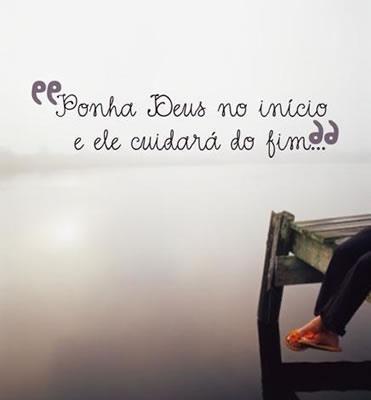 Frase Sobre Deus