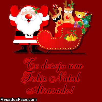 Feliz Natal Atrasado