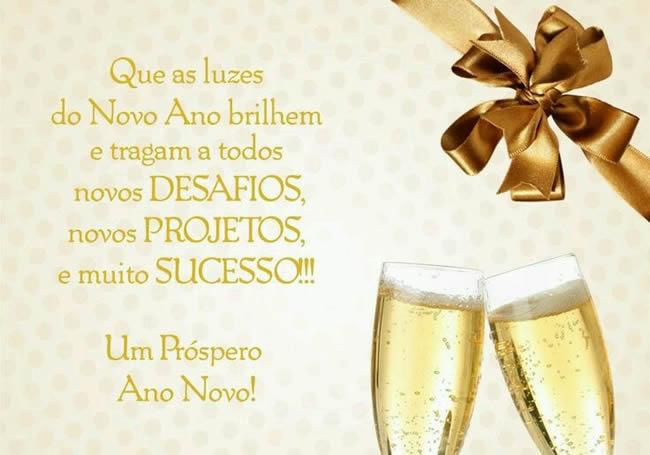 Feliz Ano Novo de sucesso